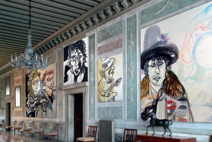 Maria Zerres Dylan Paintings
