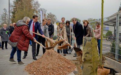 10. April 2019: Eichenpflanzung zu Ehren von Josef Beuys