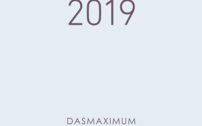 Die Jahreschronik 2019 ist da!