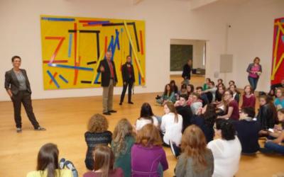 15-10-2014: Schulclusterprojekt Kreatives Schreiben im Museum DASMAXIMUM