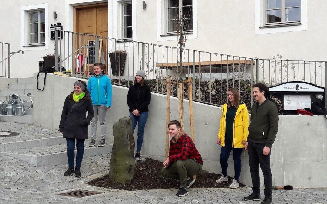 27-03-2021: Eichenpflanzung zu Ehren von Joseph Beuys in Tyrlaching